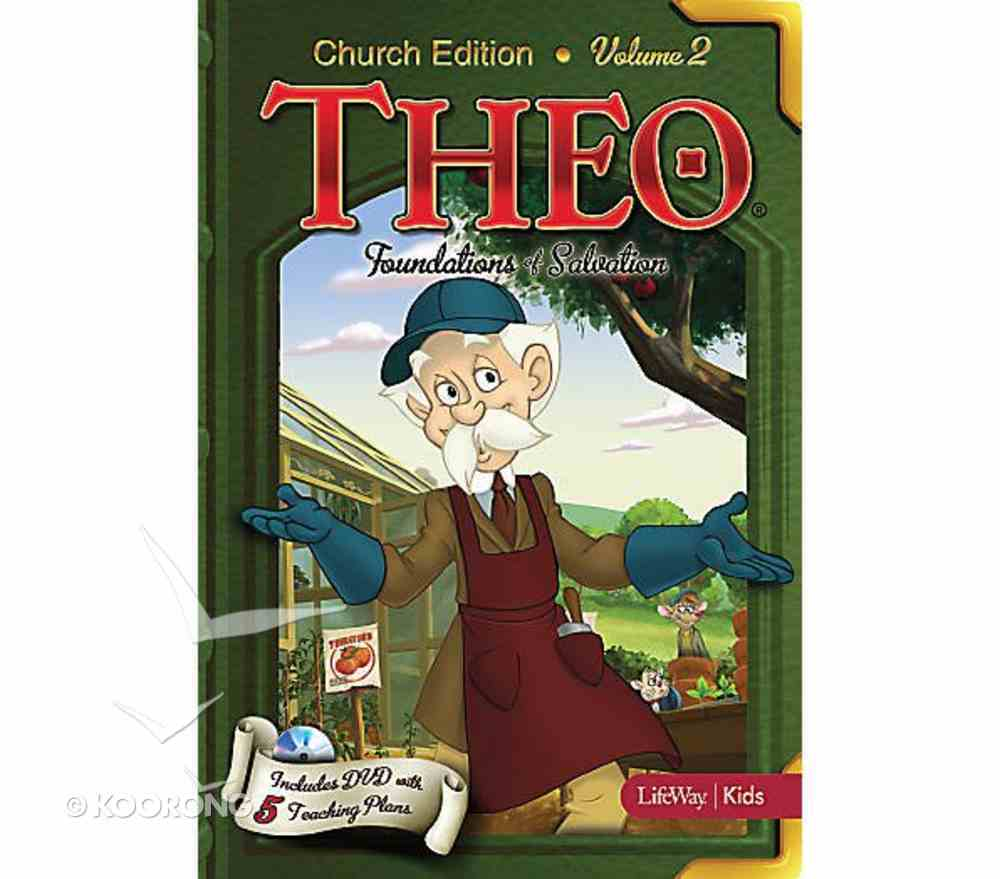 Theo #02: Foundations of Salvation (Church Edition DVD) (#02 in Theo Dvd Series) Dvd-rom