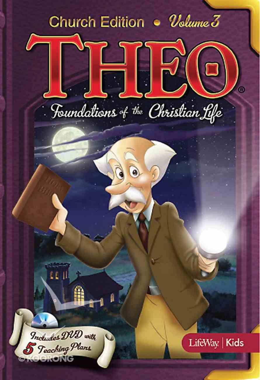 Theo #03: Foundations of the Christian Life (Church Edition DVD) (#03 in Theo Dvd Series) Dvd-rom