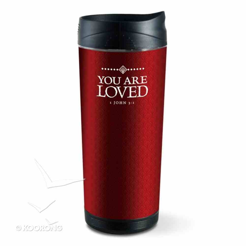 Frosted Tumbler: You Are Loved (Red) Homeware