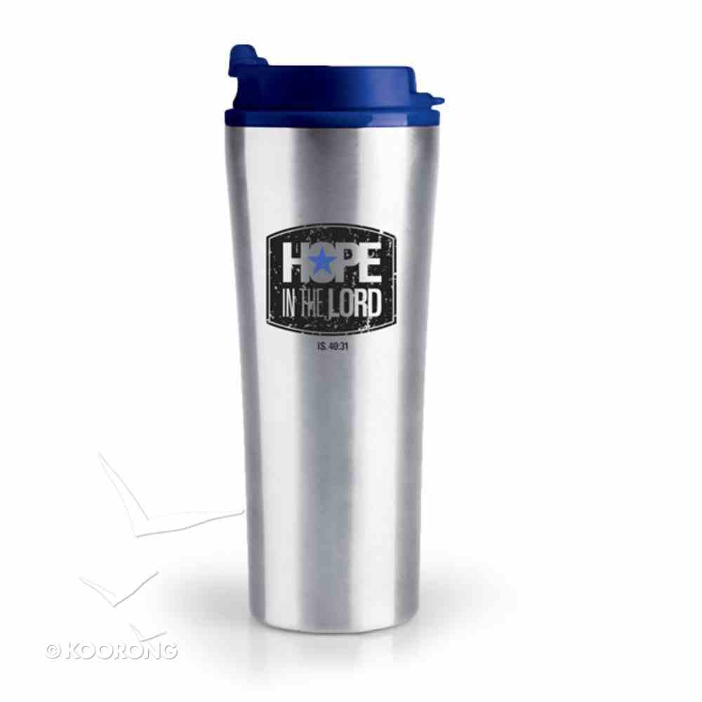 Stainless Steel Tumbler With Lid: My Hope is in You Homeware