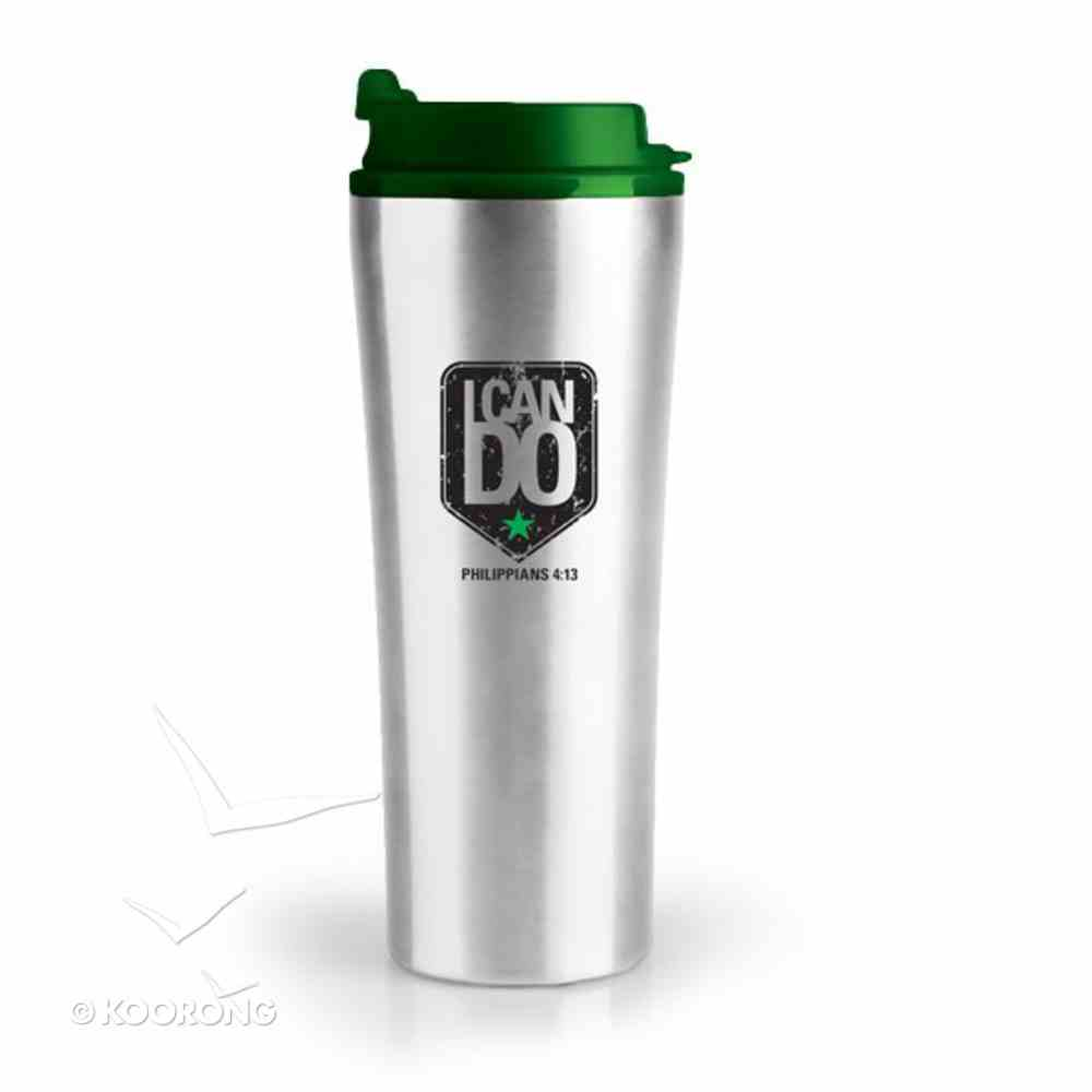 Stainless Steel Tumbler With Lid: I Can Do All Things Homeware