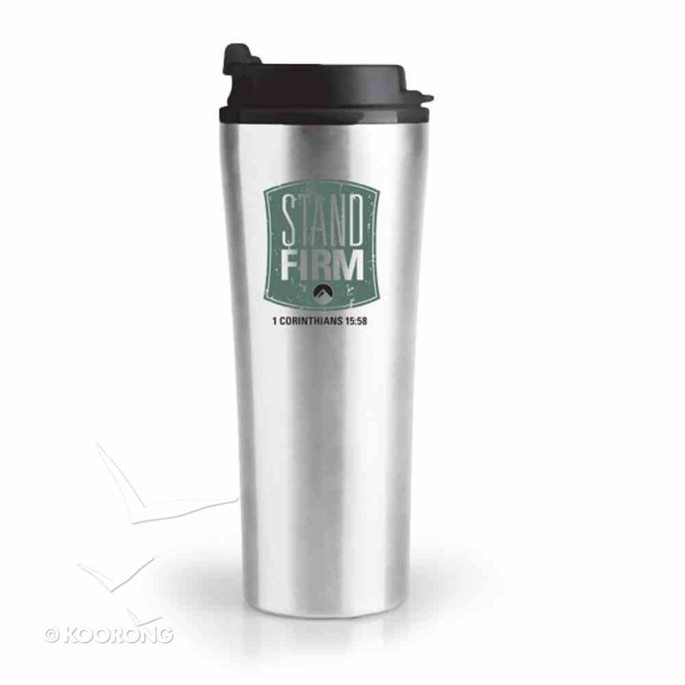 Stainless Steel Tumbler With Lid: Stand Firm Homeware