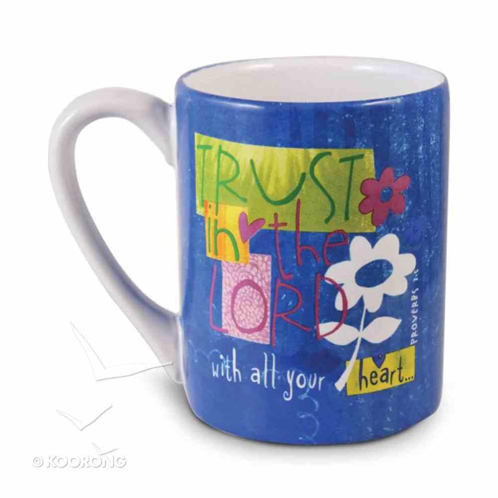 Ceramic Mug: Trust in the Lord Homeware