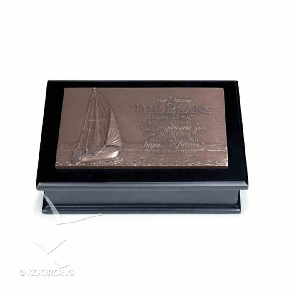 Moments of Faith Sculpture Box: Sailboat/Journey Homeware