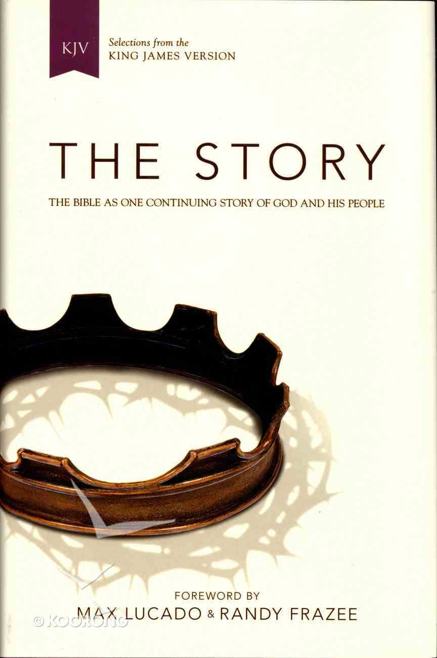 KJV Story the: The Bible as One Continuing Story of God and His People (Black Letter Edition) Hardback