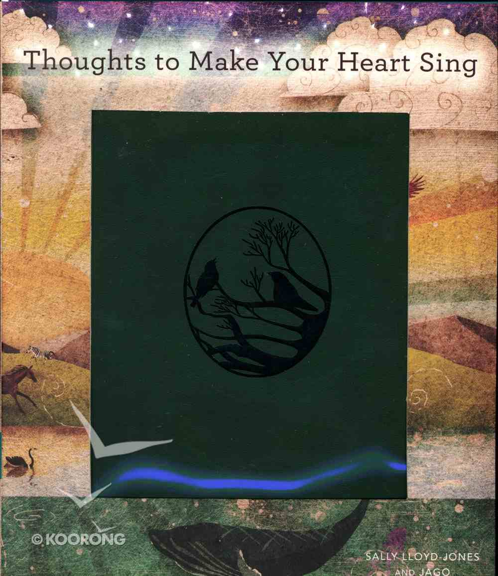 Thoughts to Make Your Heart Sing Imitation Leather