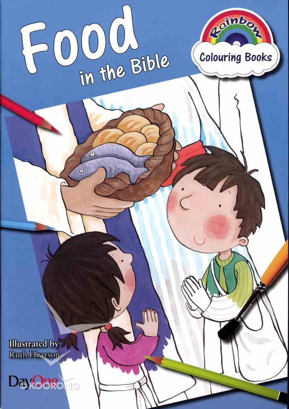 Food in the Bible (Rainbow Colouring Book Series) Paperback