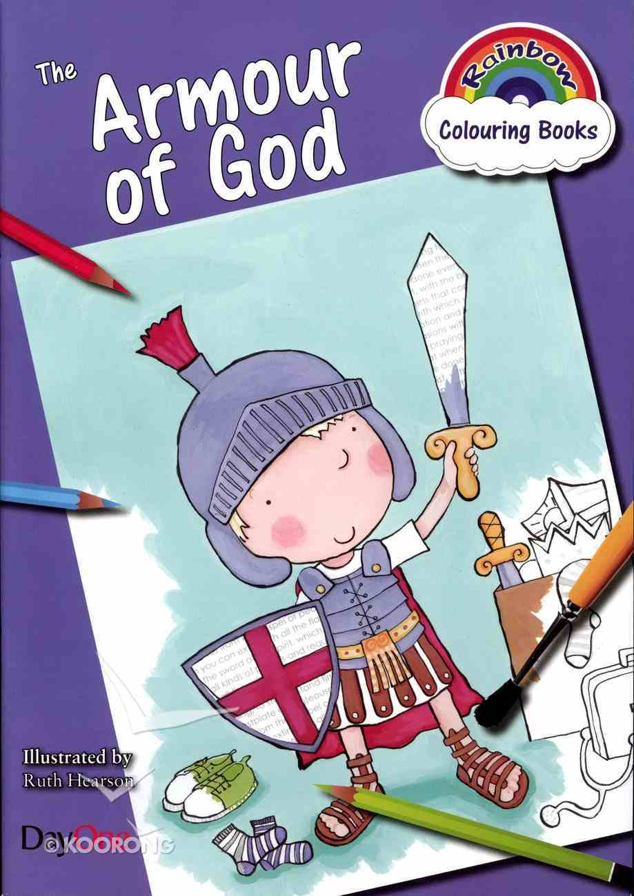 The Armour of God (Rainbow Colouring Book Series) Paperback
