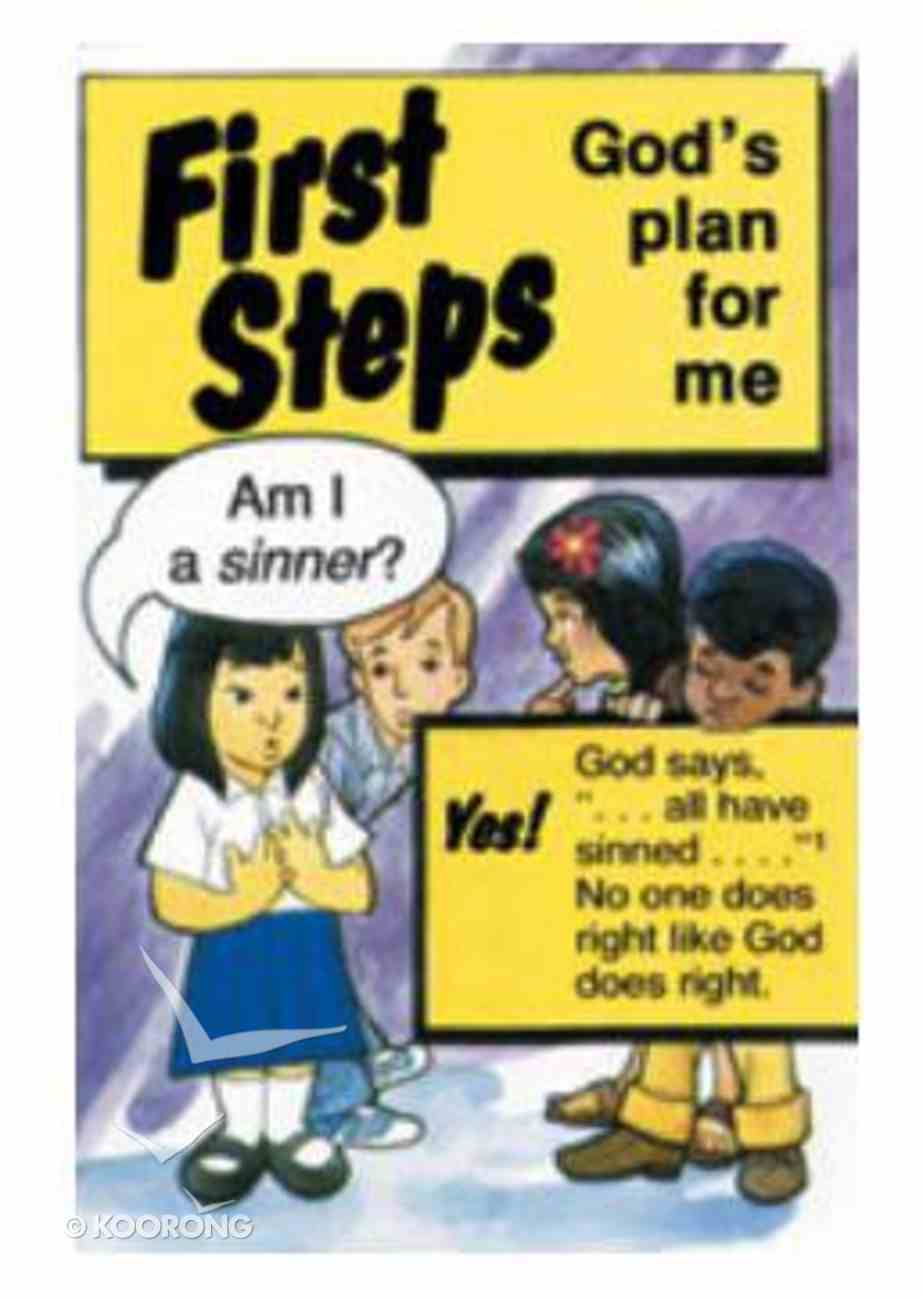 First Steps: God's Plan For Me (50 Pack) Booklet