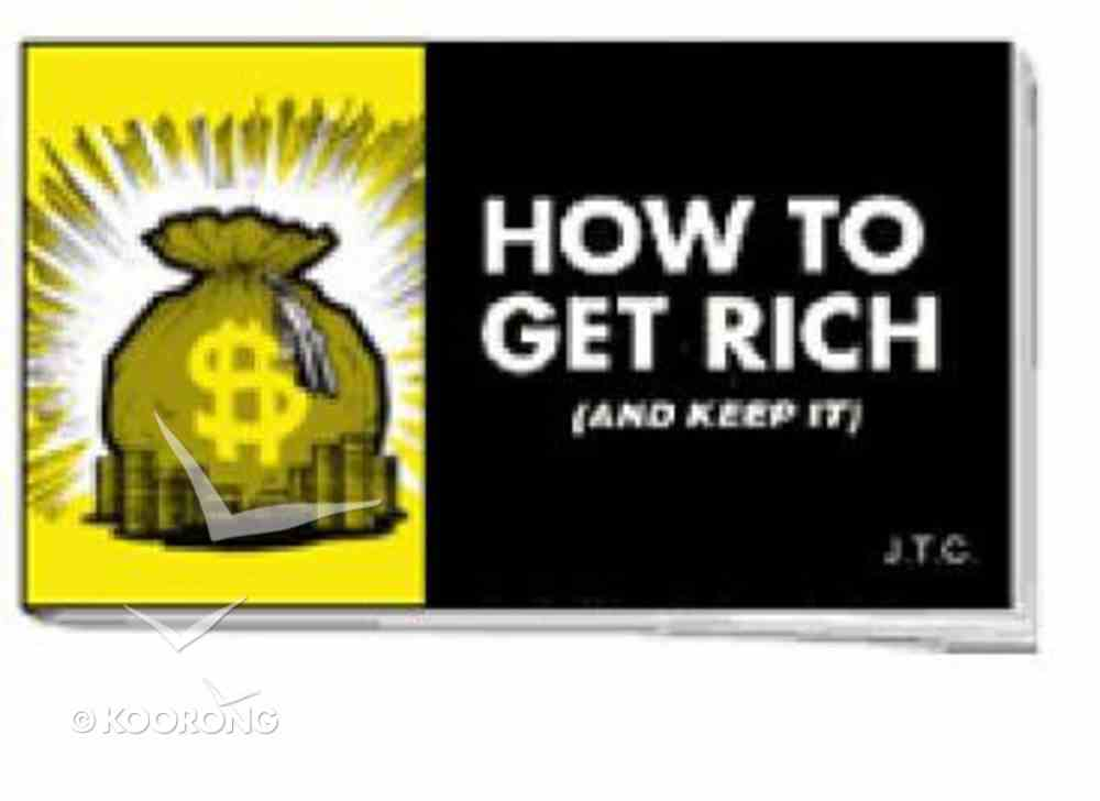 Chick: How to Get Rich (25 Pack) Booklet