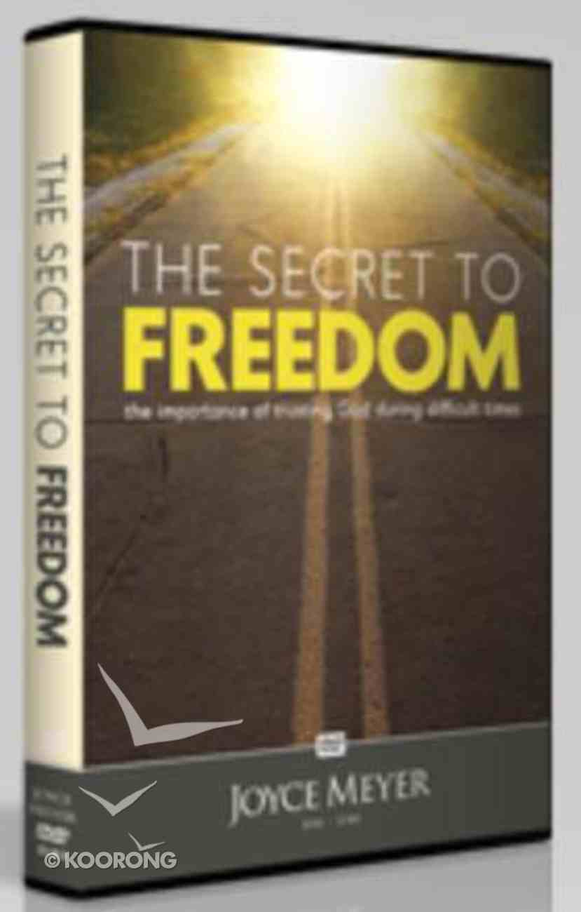 The Secret to Freedom (1 Disc) DVD