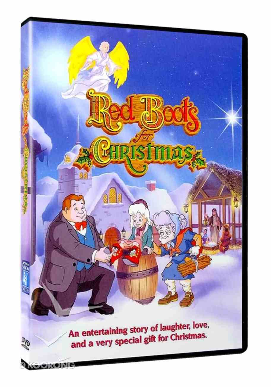 Red Boots For Christmas DVD