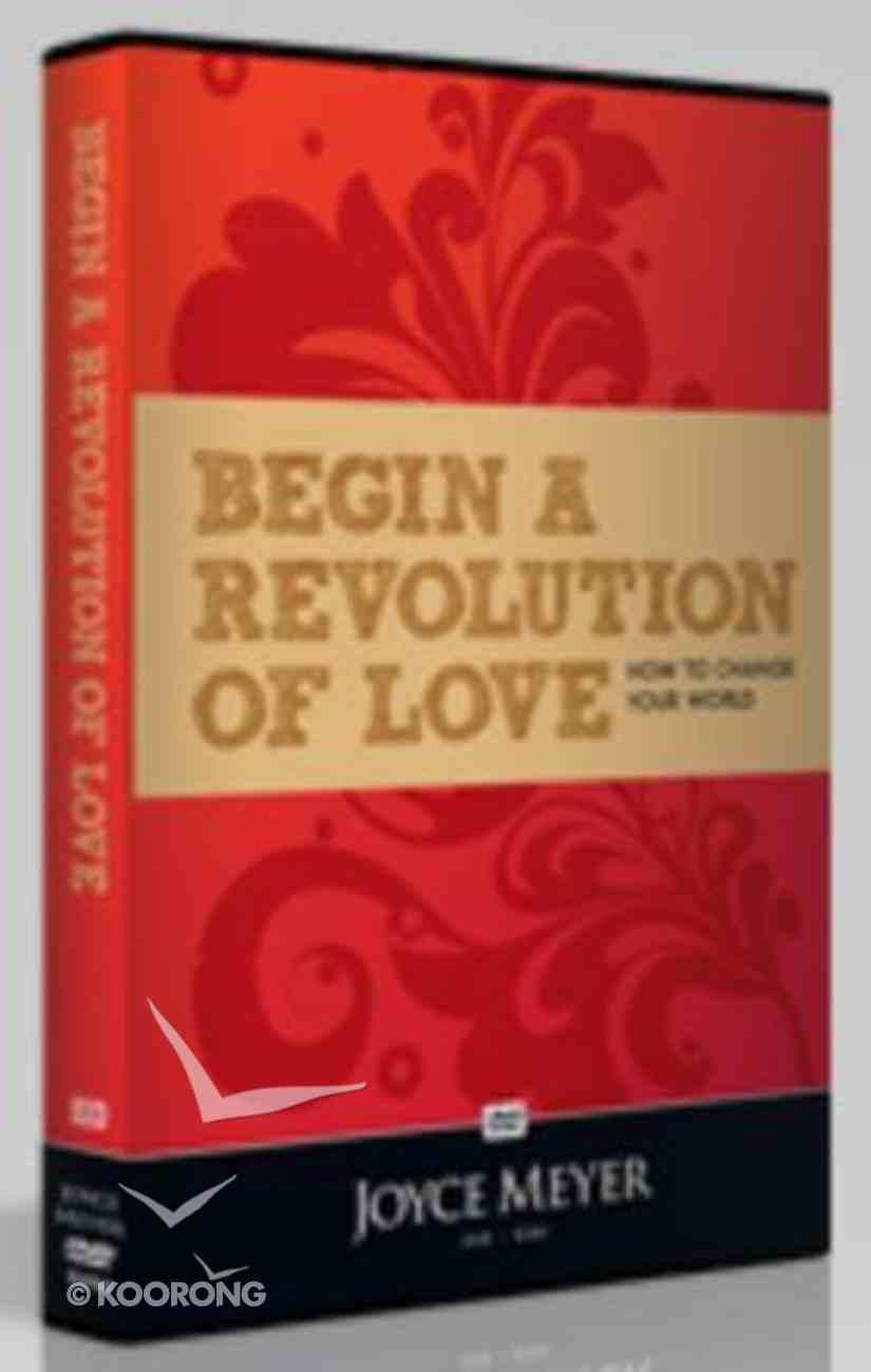 Begin a Revolution of Love (70 Minutes) DVD