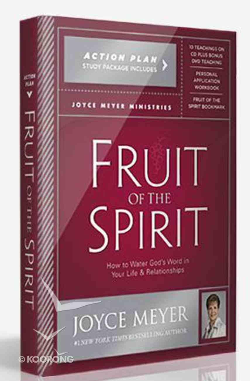 Fruit of the Spirit Action Plan (Incl Dvd, 7 Teachings On Cd, Workbook & Bookmark) Pack