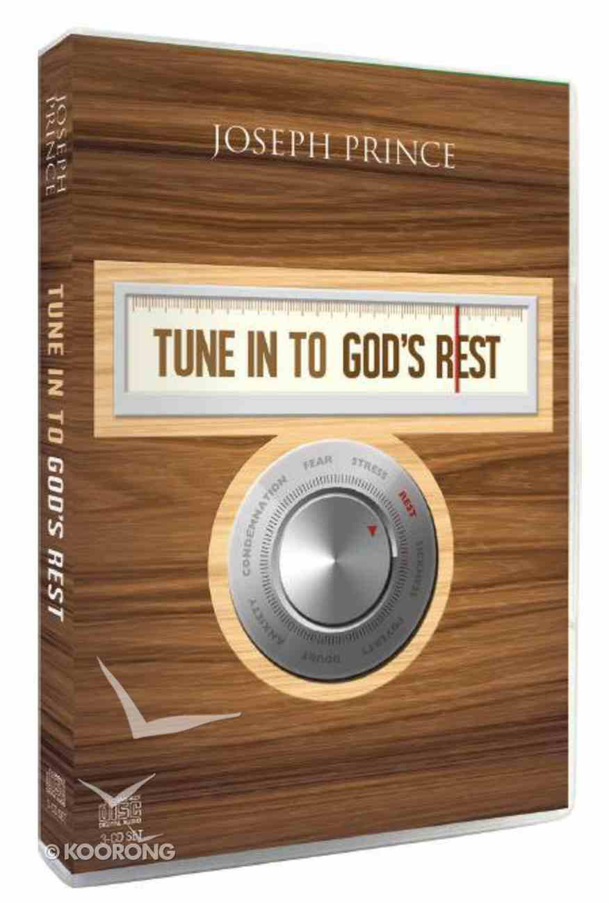 Tune Into God's Rest (2 Semons With 3 Cds) CD
