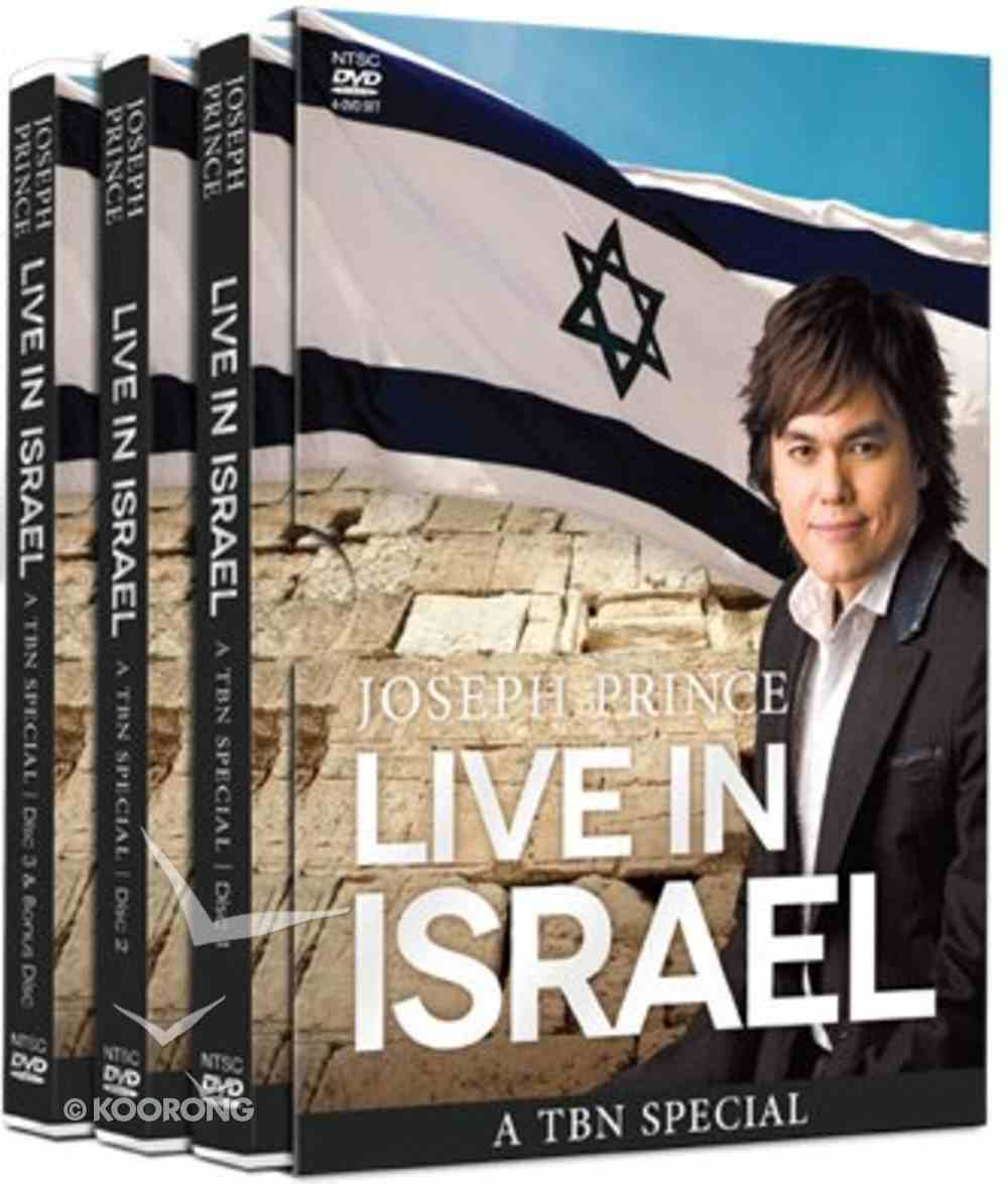 Live in Israel: A Tbn Special (4 Dvds) DVD