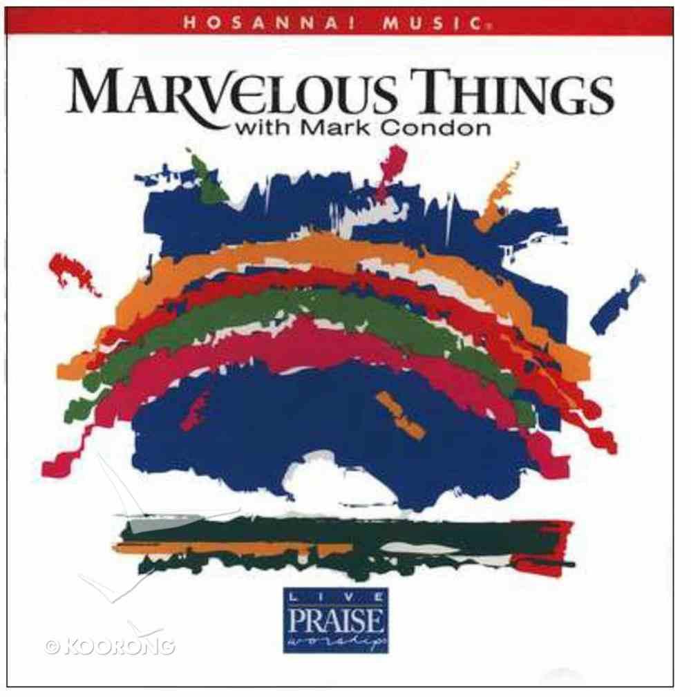 Marvelous Things Songbook Paperback