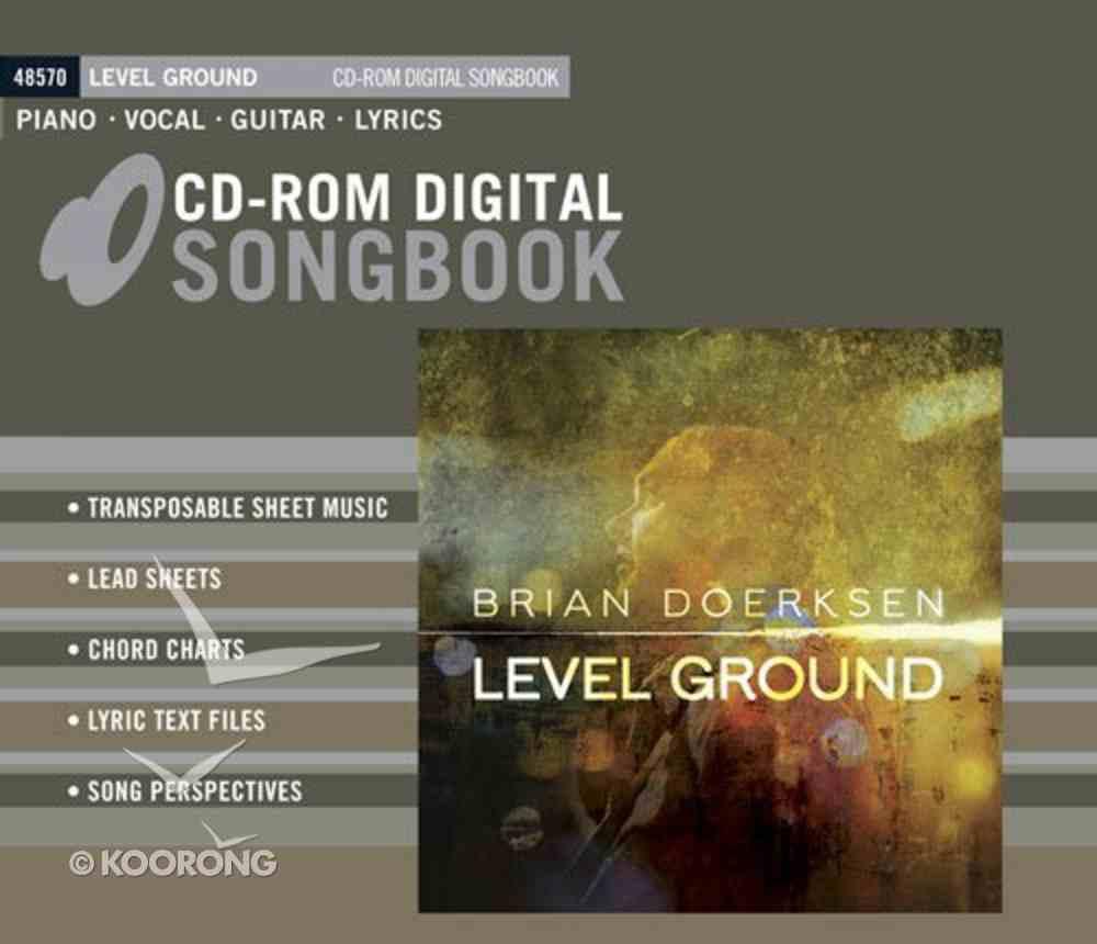 Level Ground CDROM Songbook CD-rom