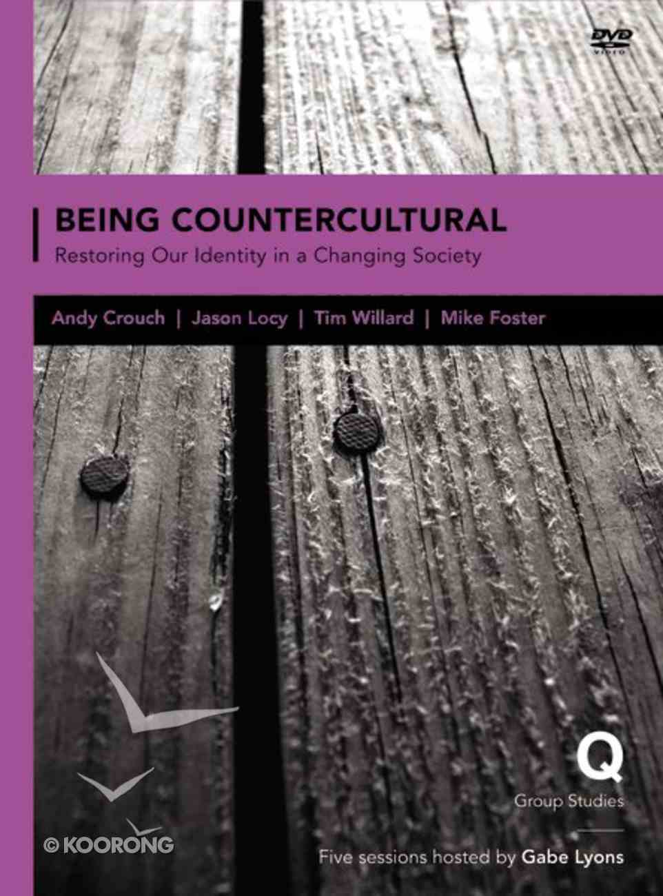 Being Countercultral (Q Society Room Series) DVD