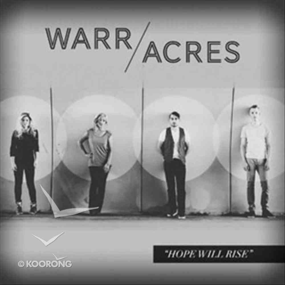Hope Will Rise CD