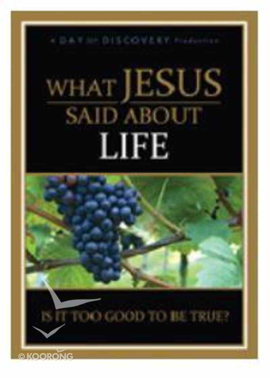 What Jesus Said About Life DVD