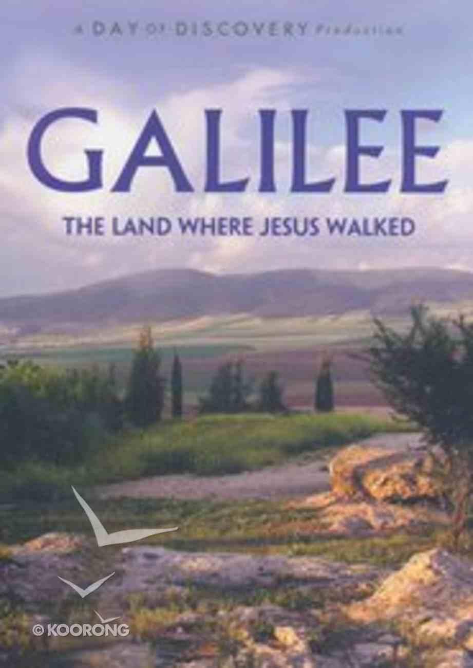 Galilee - the Land Where Jesus Walked DVD