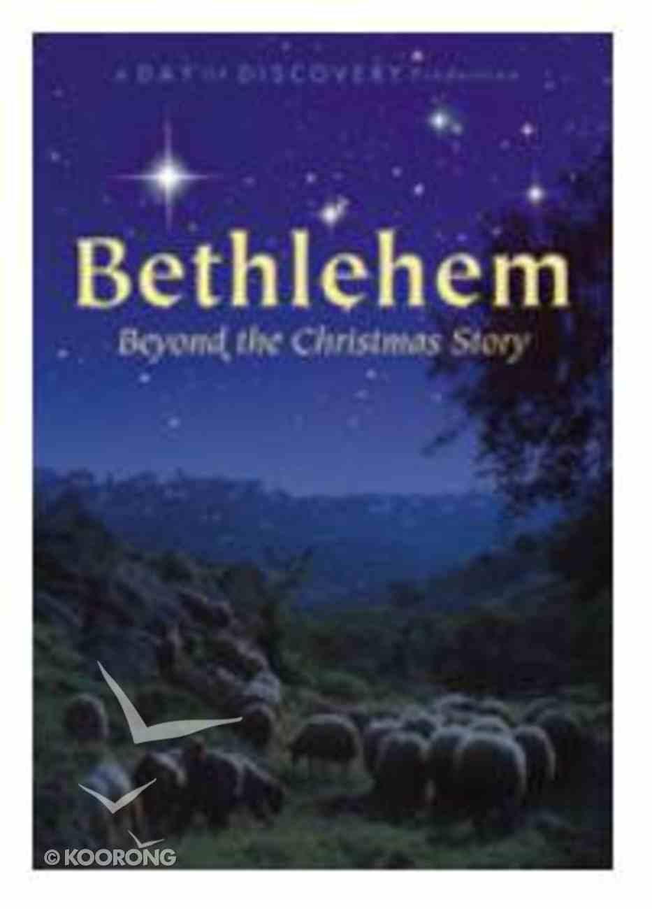 Bethlehem - Beyond the Christmas Story DVD