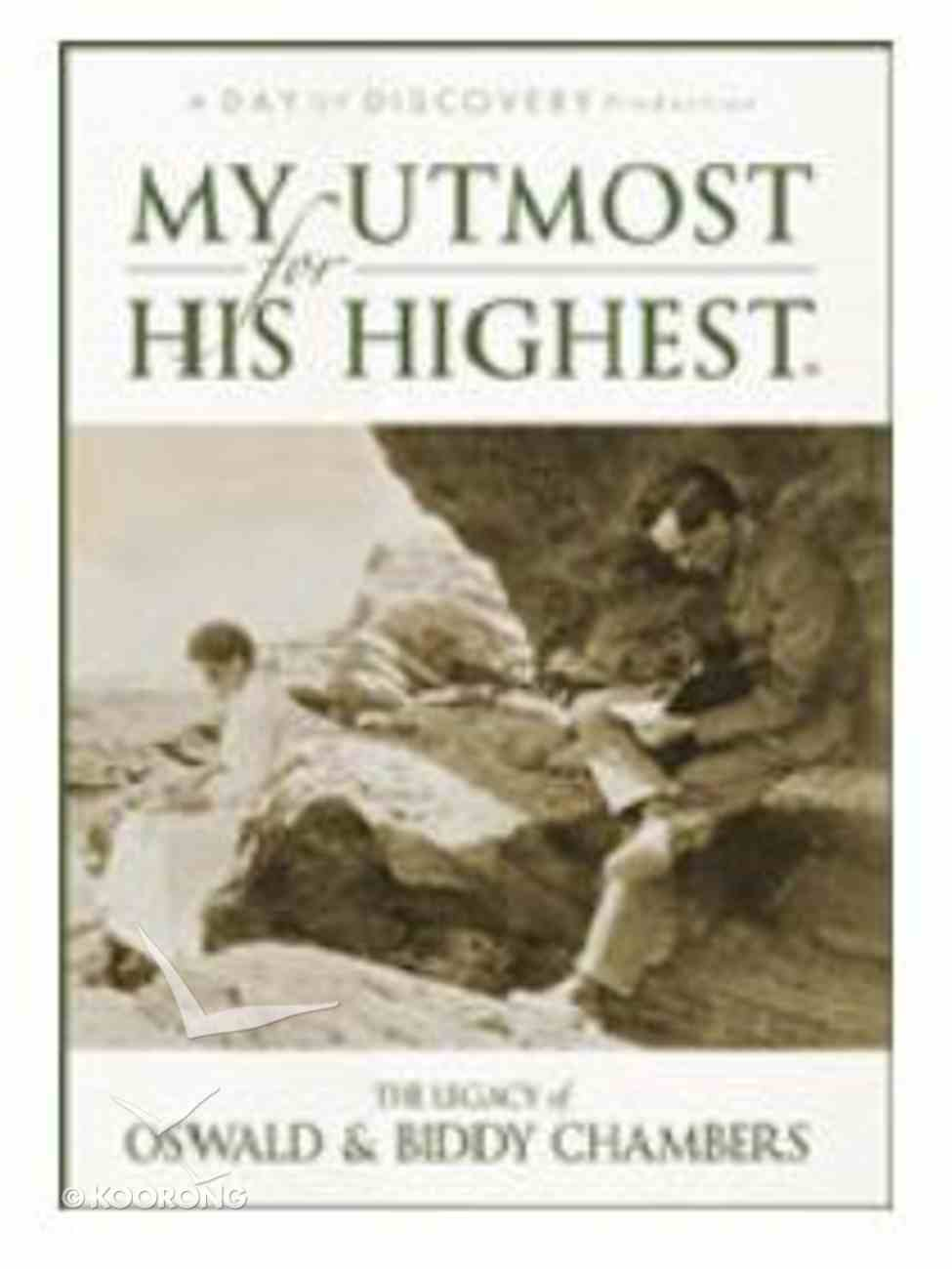 My Utmost For His Highest DVD