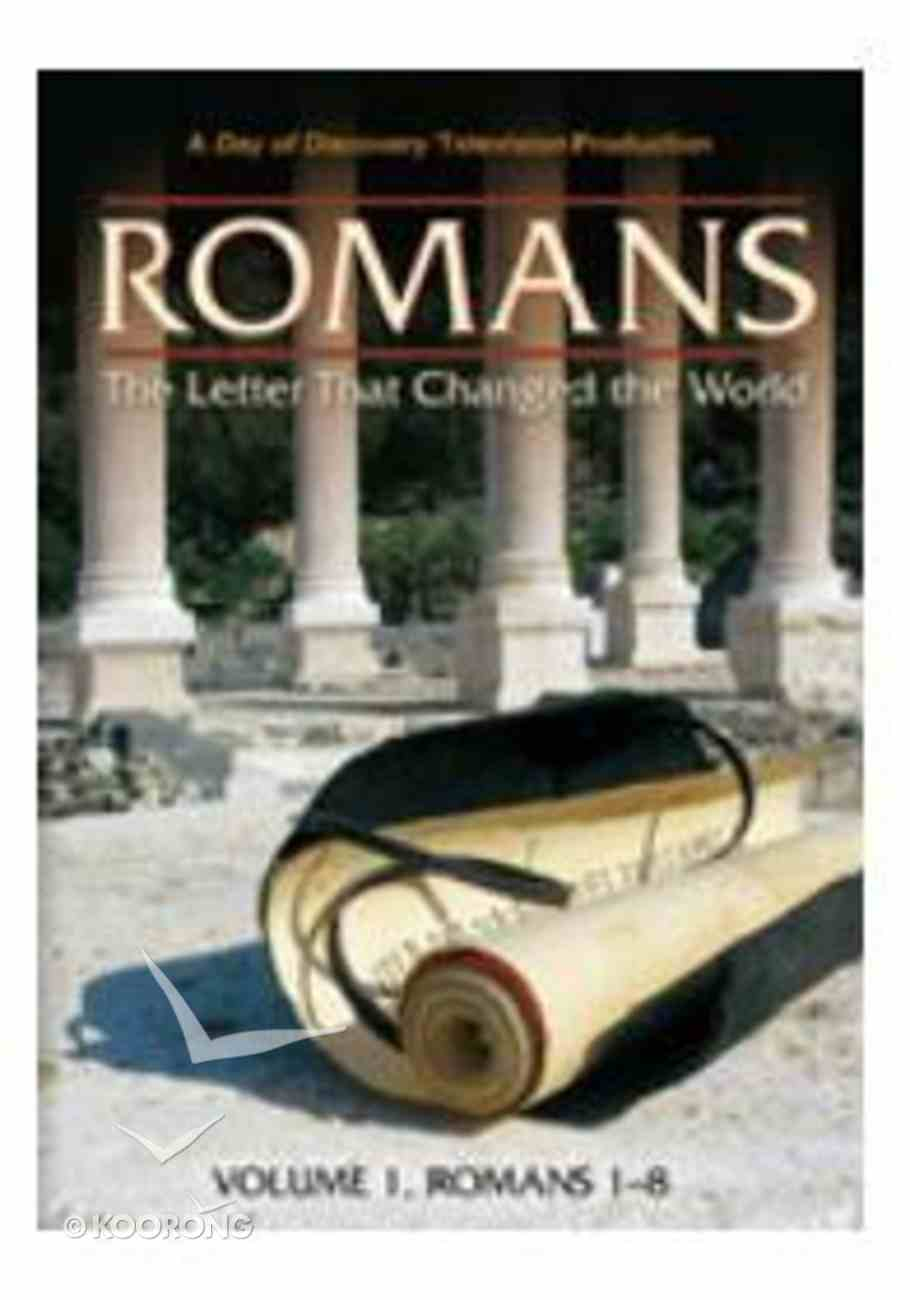 Romans #01: Letter That Changed the World, the - Rom 1-8 DVD