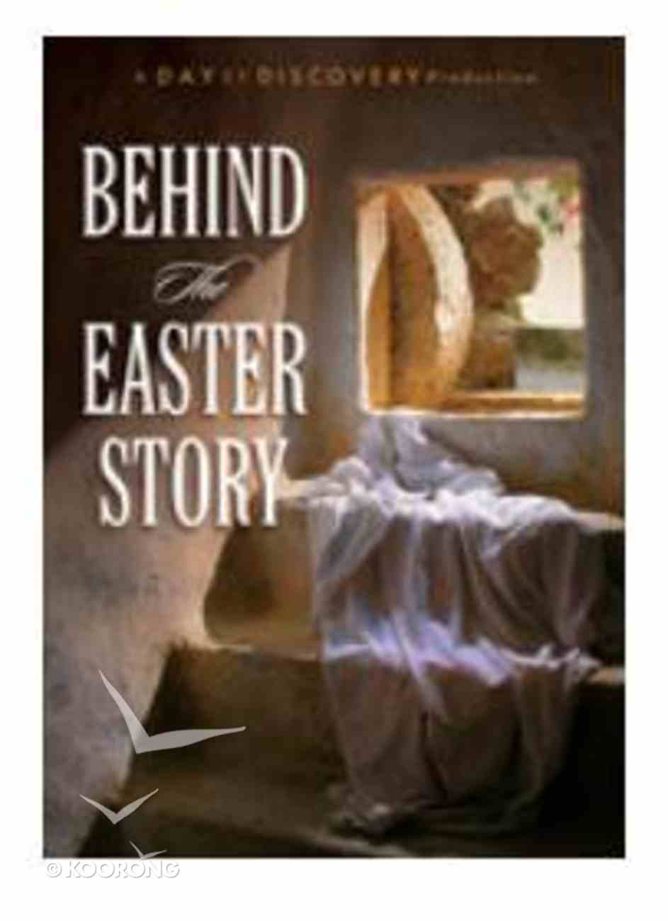 Behind the Easter Story DVD