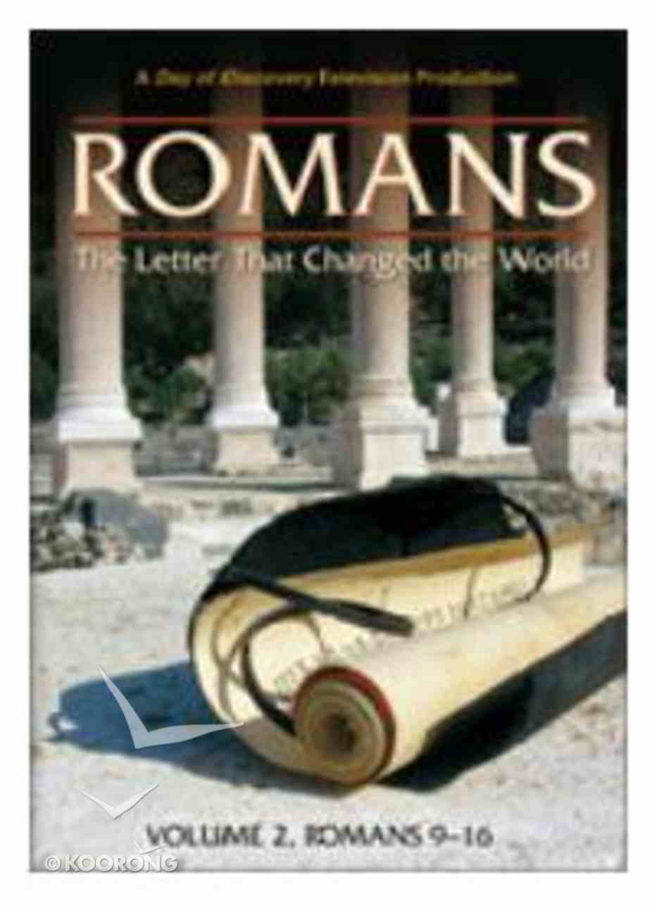 Romans #02: Letter That Changed the World, the - Rom 9-16 DVD