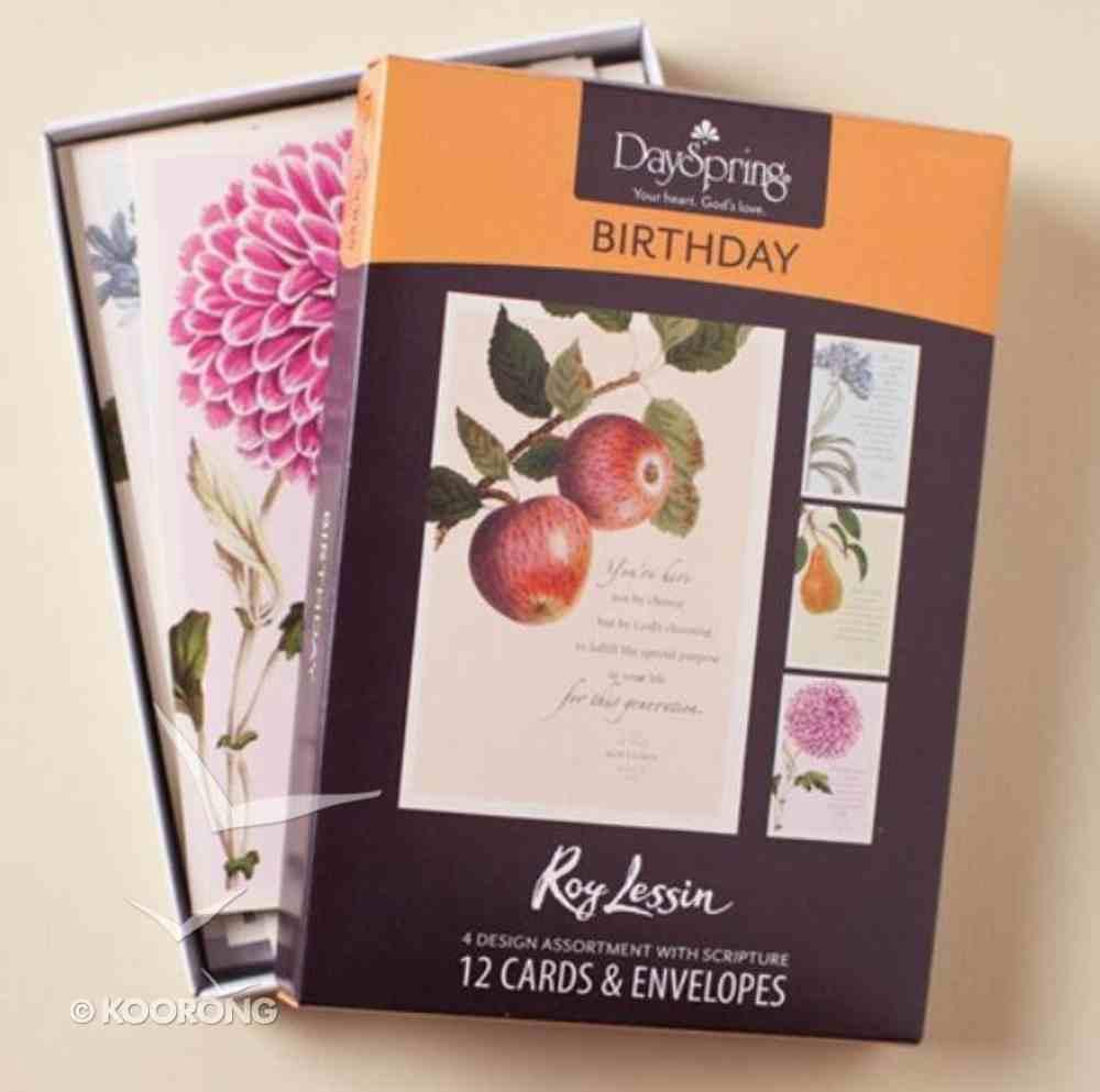 Boxed Cards Birthday: Roy Lessin Box