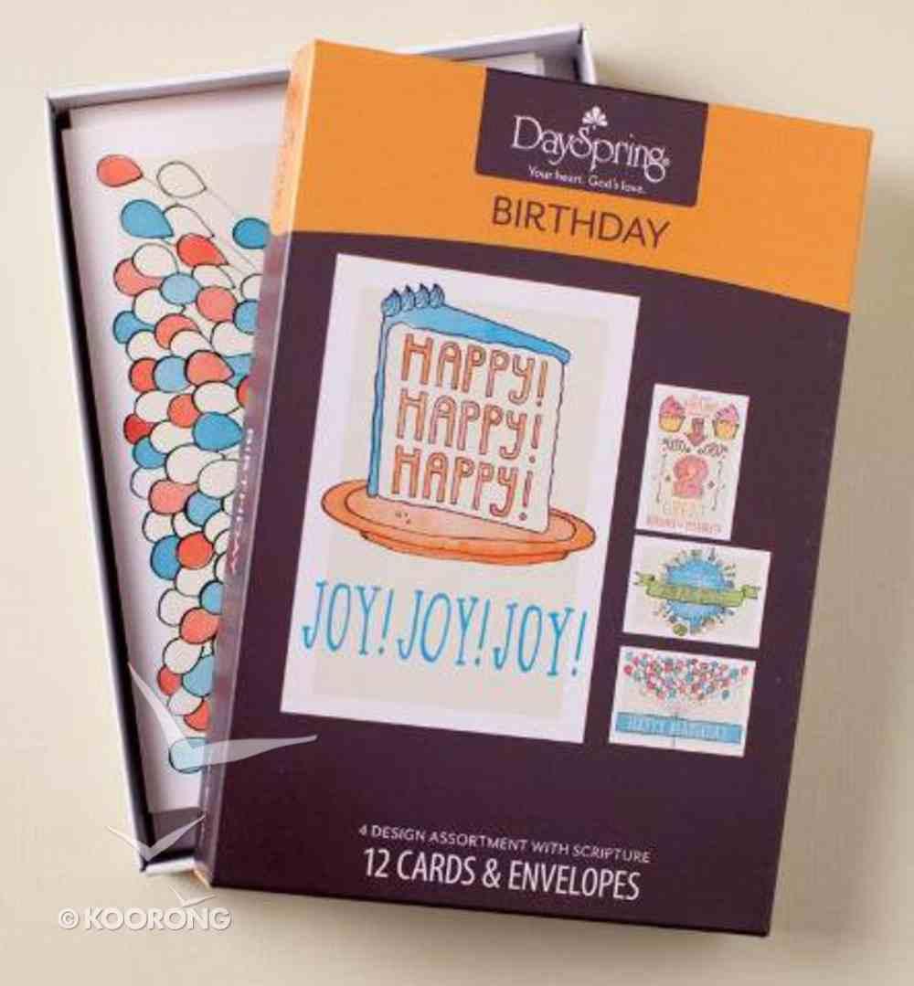 Boxed Cards Birthday: Teen Box