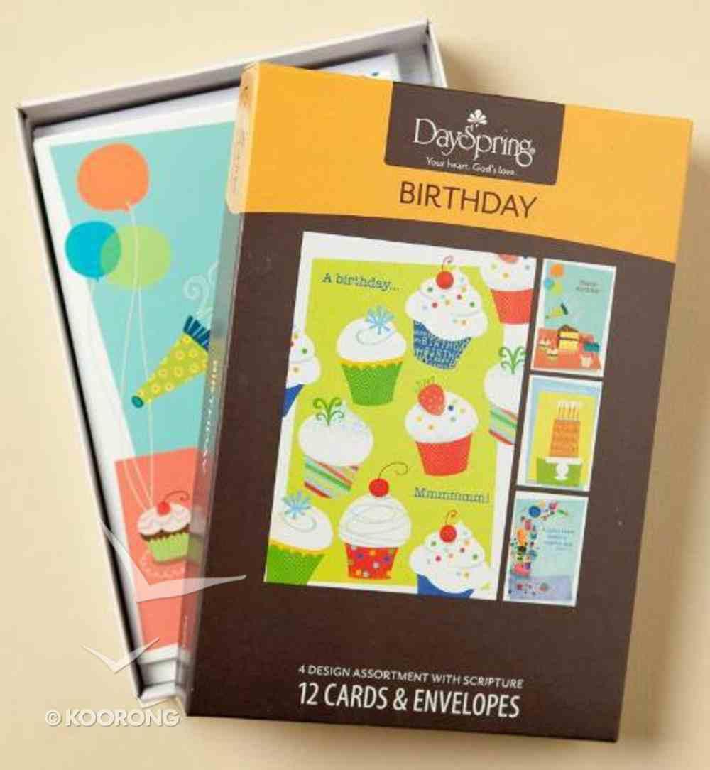 Boxed Cards Birthday: Sweet Treats Box