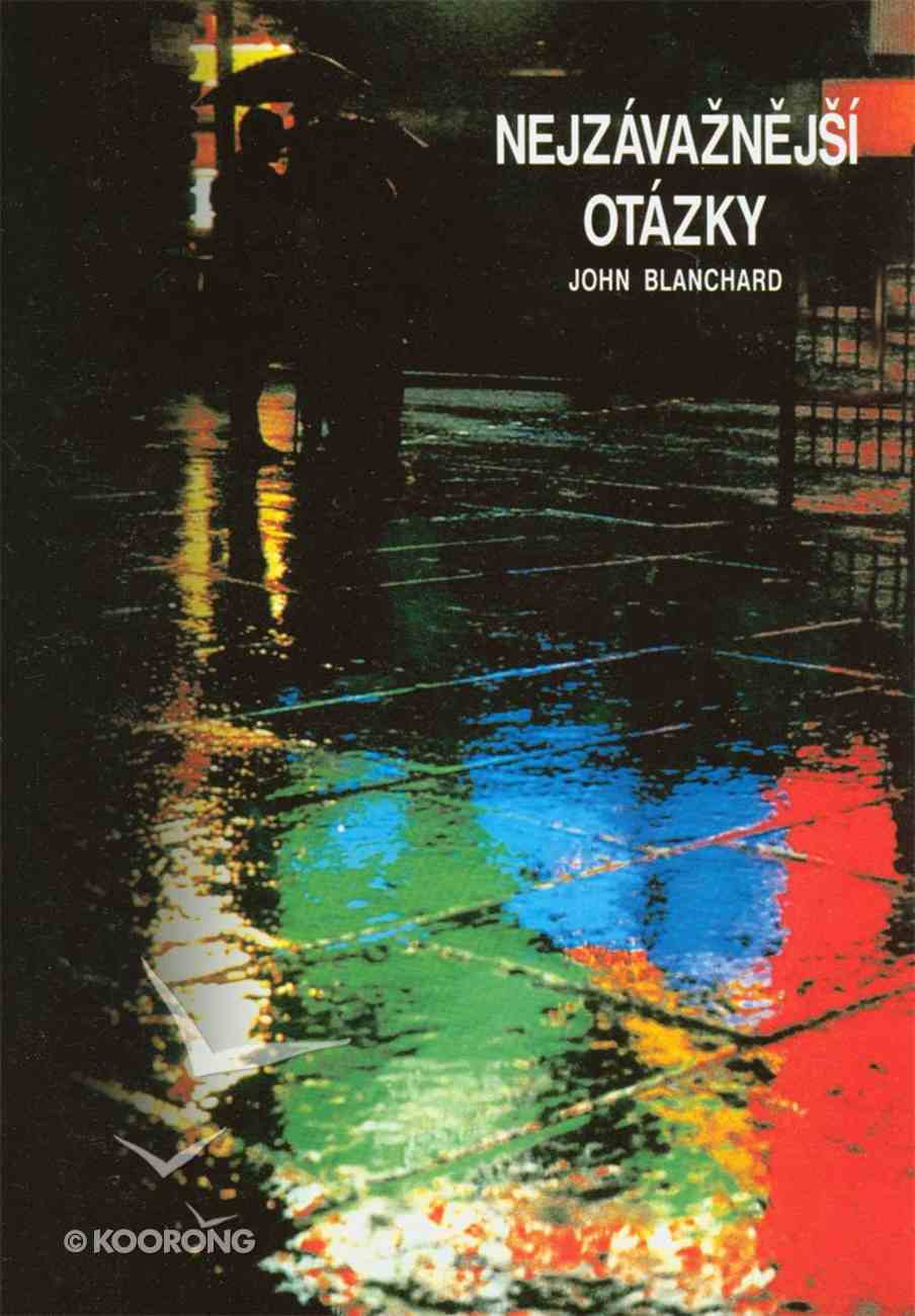 Ultimate Questions (Czech) Booklet