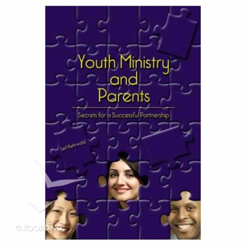 Youth Ministry & Parents Paperback