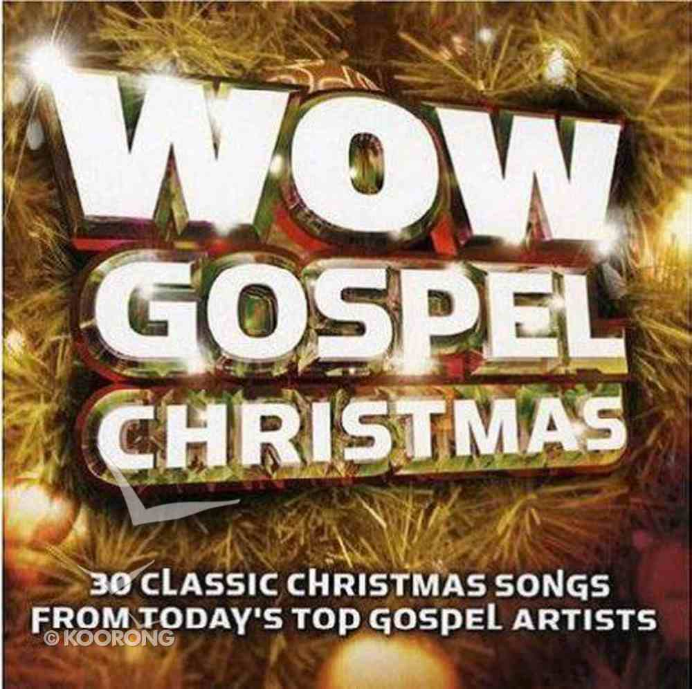 Wow Gospel Christmas (2013) CD
