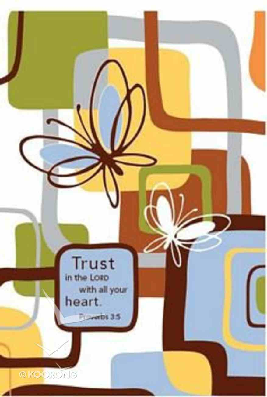 Notebook: Trust in the Lord With All Your Heart, Proverbs 3:5 Hardback