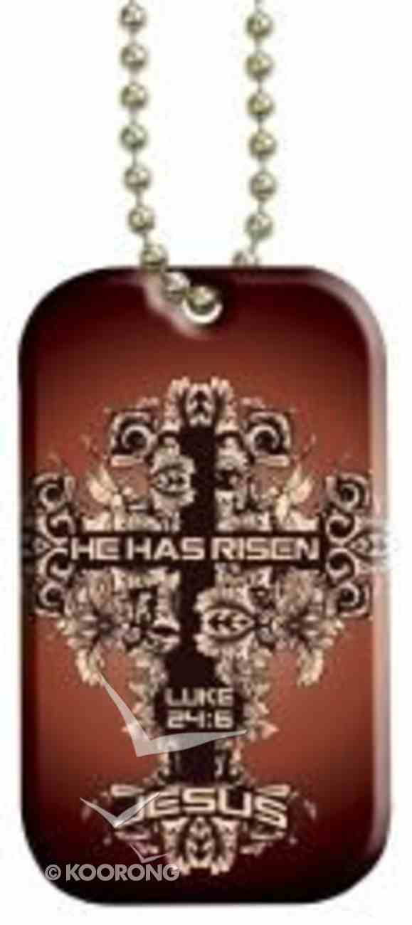 Witness Gear Dog Tags: Jesus He Has Risen Jewellery