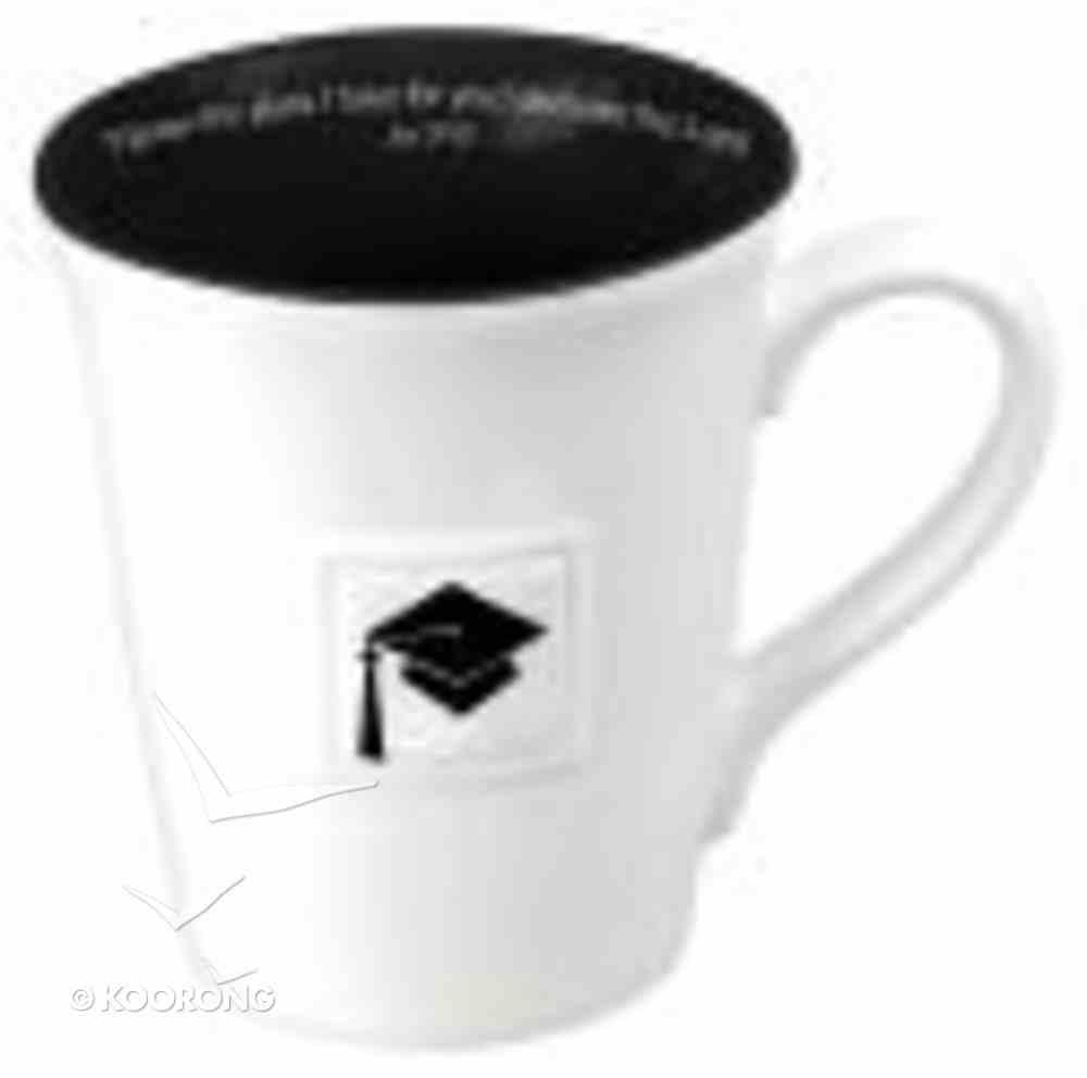 Mug: Graduation, Scripture Reference Inside Jer 29:11 Homeware