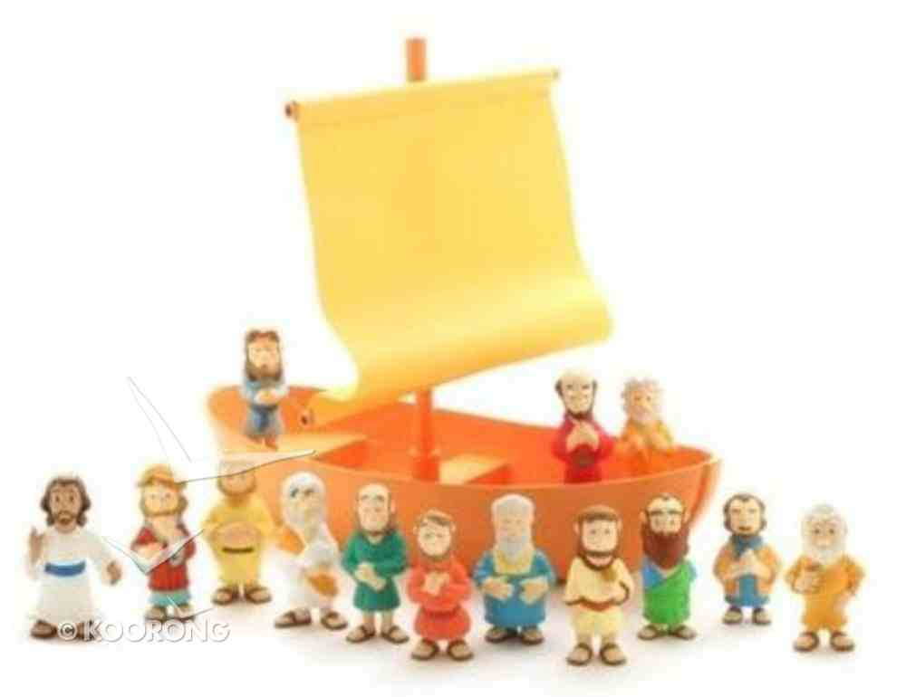 Galilean Boat With Apostles Play Set (Tales Of Glory Toys Series) Game