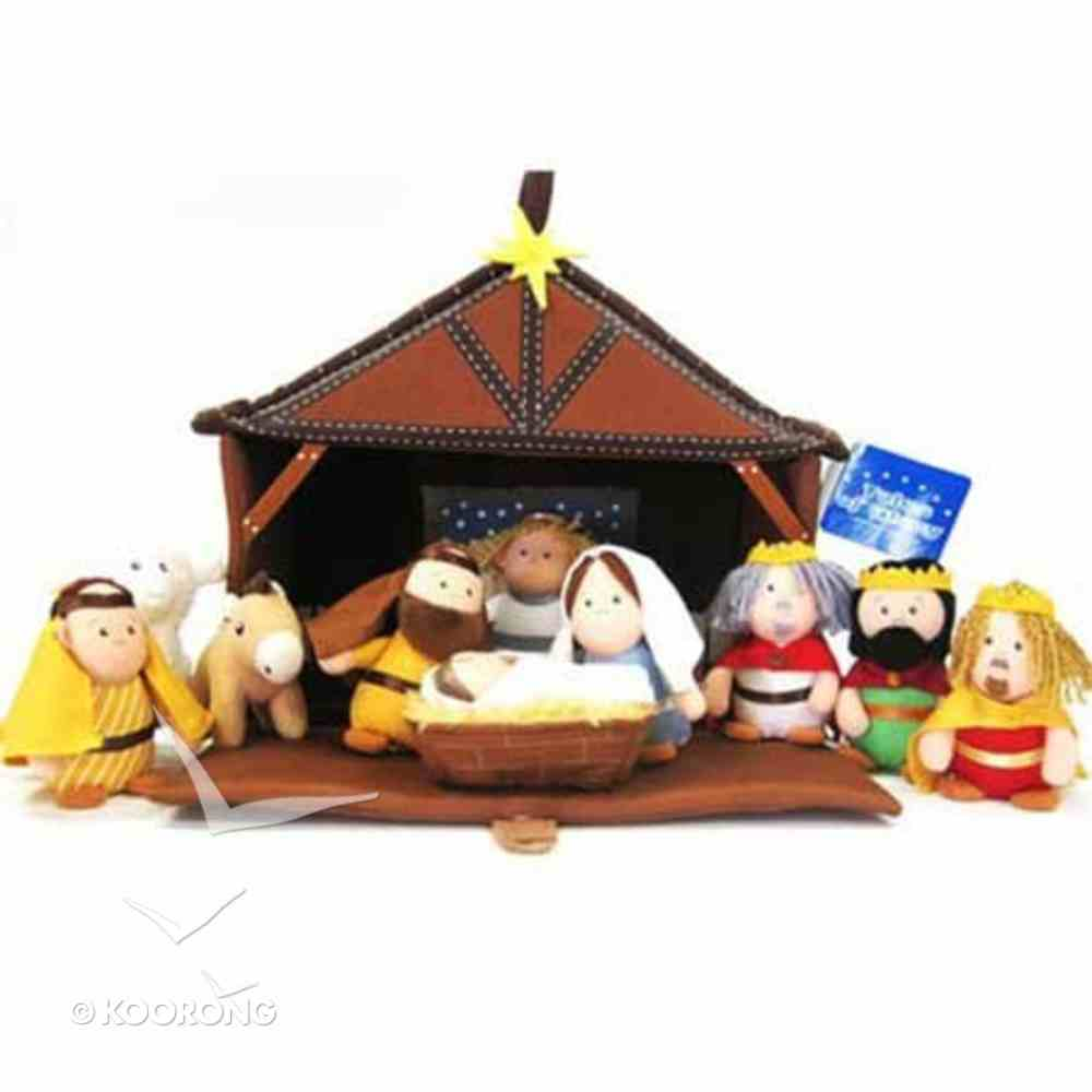 Plush Nativity (11 Piece Play Set) (Tales Of Glory Toys Series) Game
