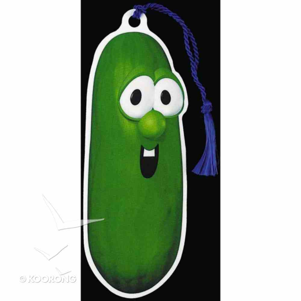 Bookmark With Tassel: Veggie Tales Larry Cucumber Stationery