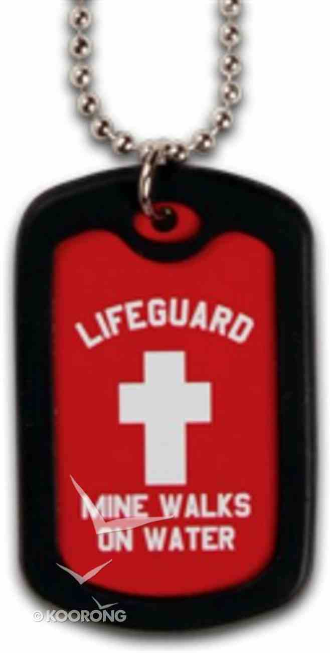 Faith Dog Tag Lifeguard Jewellery