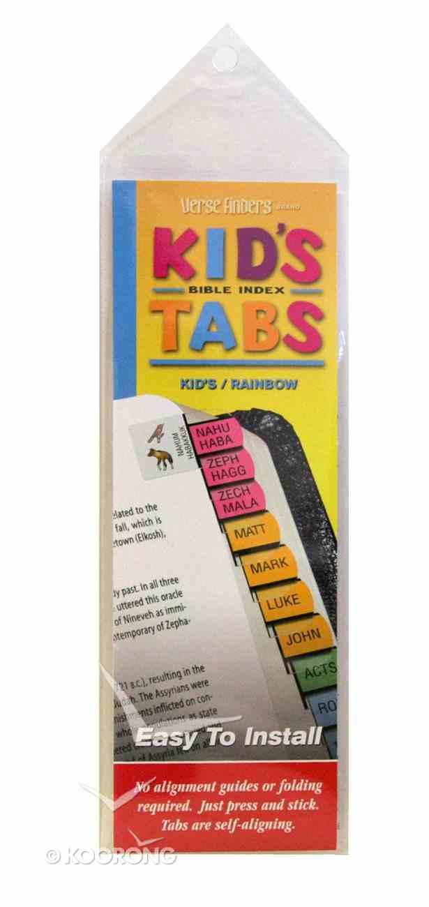 Bible Tabs Verse Finders Kid's Tabs (Horizontal) Stationery