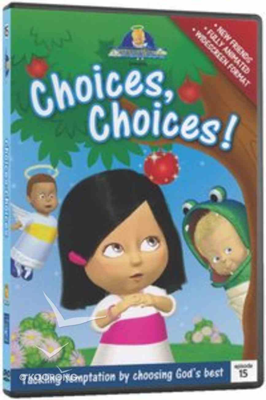 Choices, Choices! (#15 in Cherub Wings (Dvd) Series) DVD