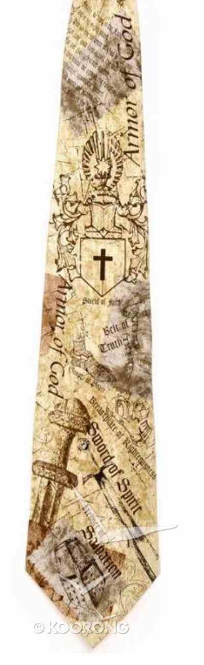 Silk Tie: Armor of God Soft Goods