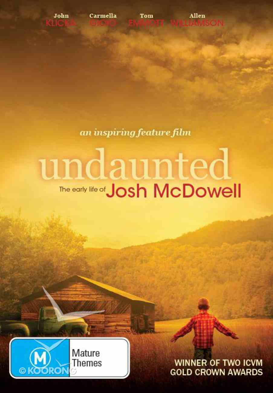 Scr DVD Undaunted: The Early Years of Josh Mcdowell: Screening Licence Standard Digital Licence