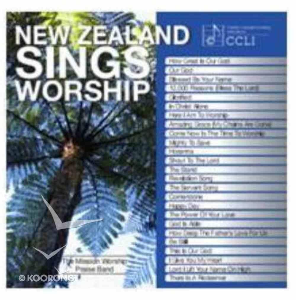New Zealand Sings Worship (2cd) CD