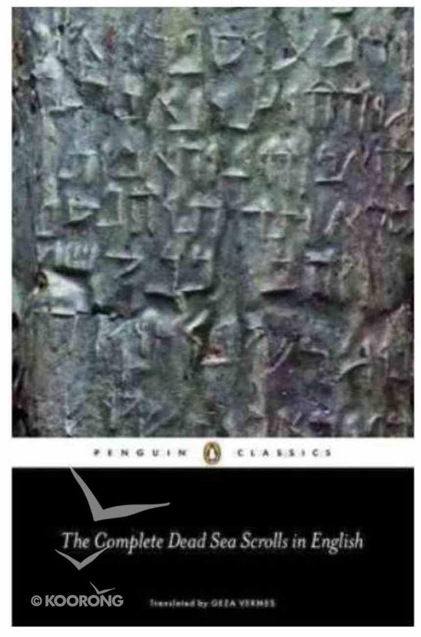 The Complete Dead Sea Scrolls in English (7th Edition) (Penguin Black Classics Series) Paperback